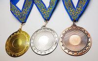 Медали металлические с лентой