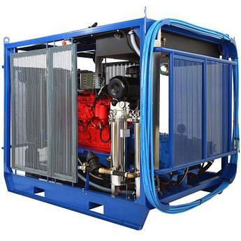 Серия водоструйных аппаратов Посейдон 67 л.с. (500-1500 бар) в исполнении Cube