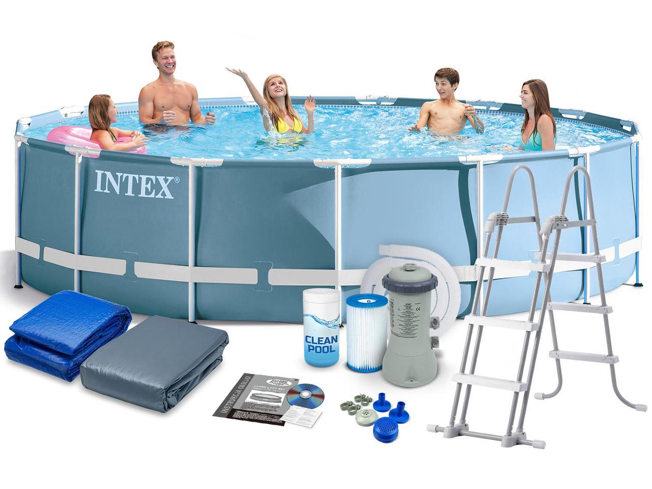 Бассейн Family Pool (457х107см.) Intex