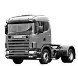 Стекло лобовое Scania 84/94/114/144 (series 4)