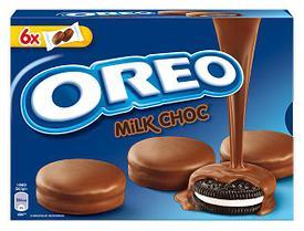 Печенье Oreo Milk Choc Banadas 246гр (10шт-упак)