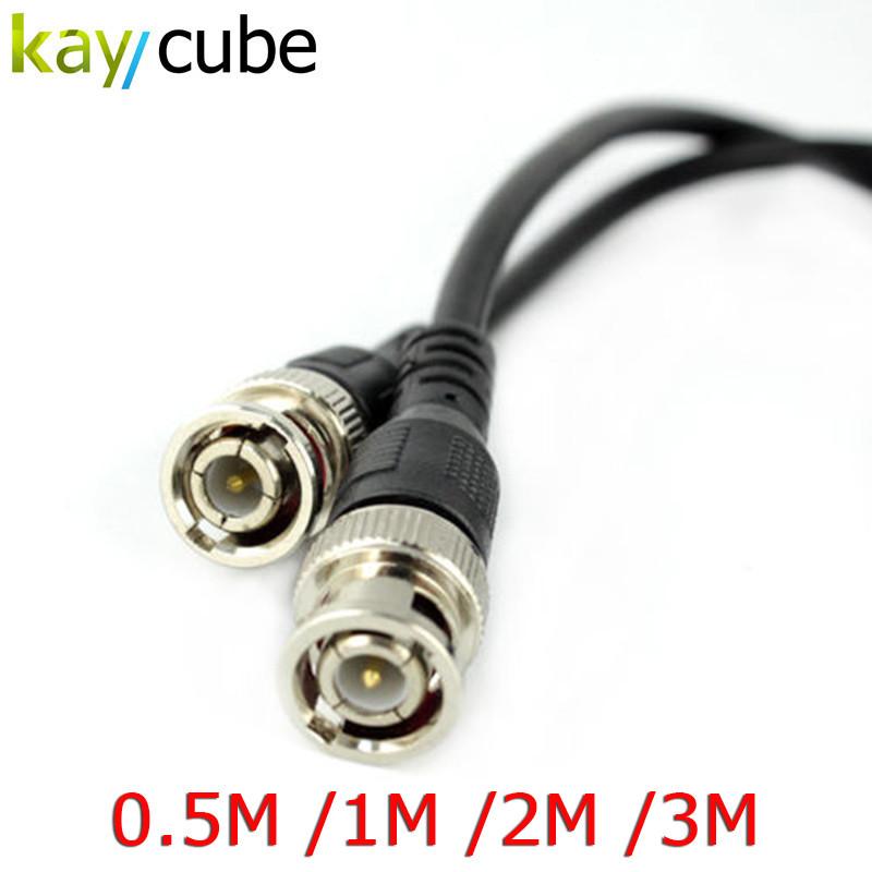 Шнур соединительный BNC-BNC для систем видеонаблюдения (0,5 м)