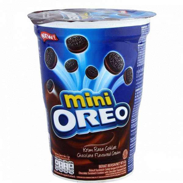 Печенье Oreo Mini Choco creme 67 гр Мини Орео Шоколадный крем