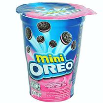 Печенье Oreo mini 67гр Орео Мини с клубничным кремом
