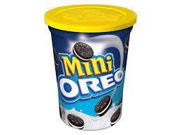 Печенье Oreo Mini 115 гр Мини Орео желтая крышка (8шт-упак)