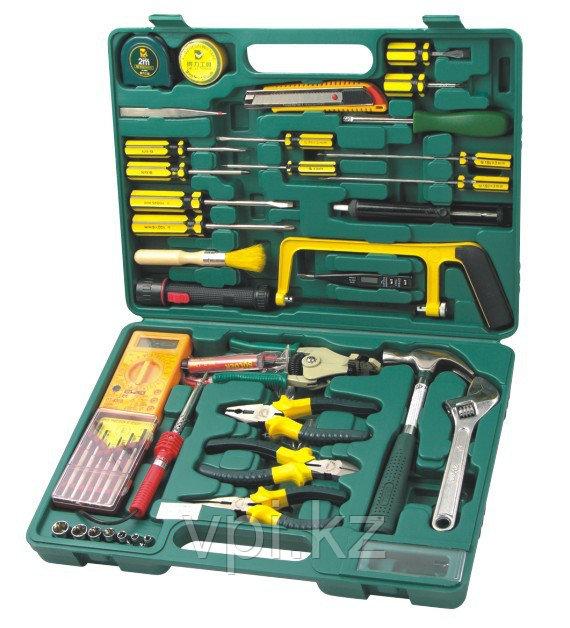 Набор инструментов электромонтажных, 37пр. 1042  De&Li