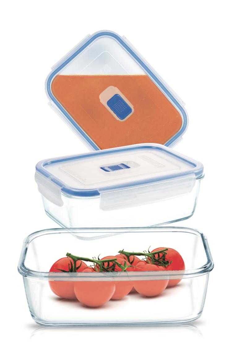 Набор прямоугольных контейнеров Luminarc Pure Box Active 3 шт