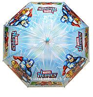 Зонт детский Мстители Marvel трость бирюзовый