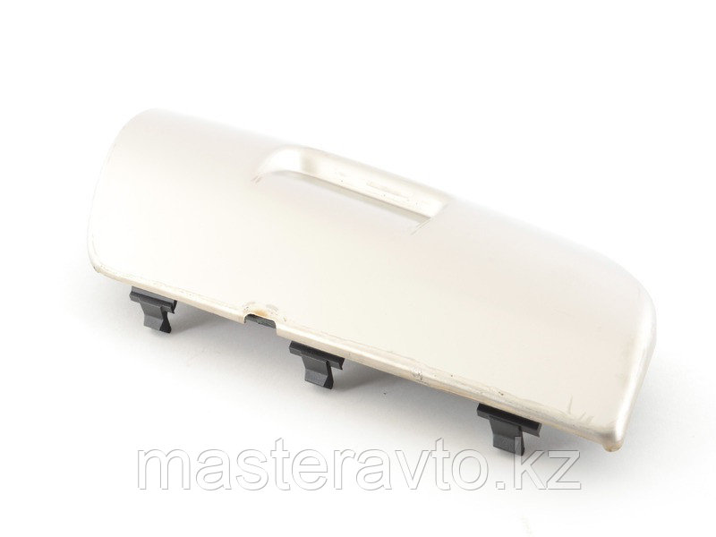 Заглушка переднего бампера правая, нерж.сталь Porsche Cayenne 2007-2010 (NEW)