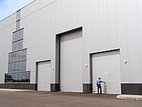 Промышленные ворота купить в Алматы, фото 1