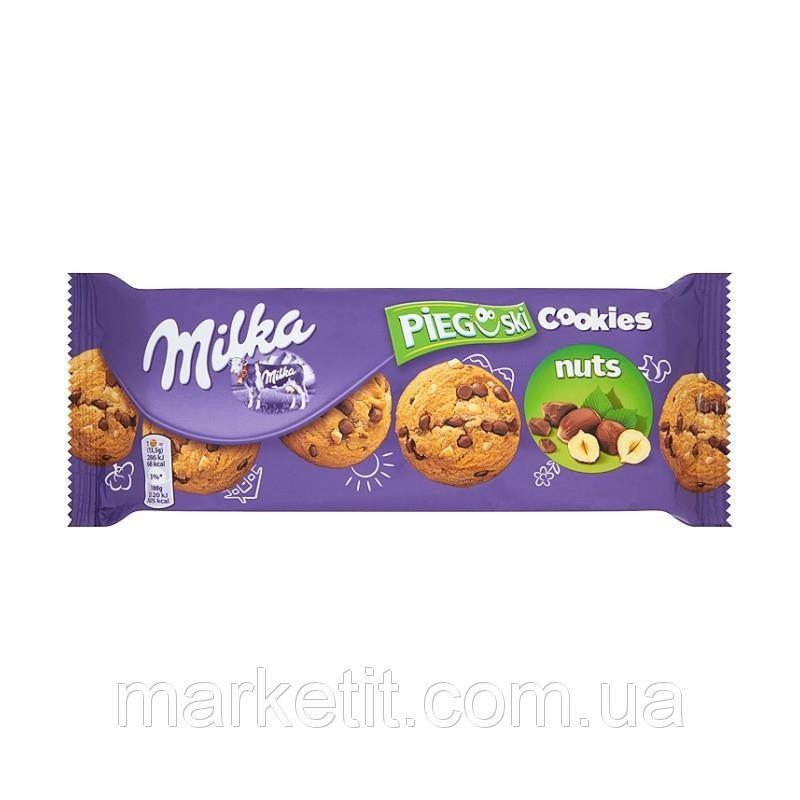 Milka Pieguski Choco Cookie NUT (135 грамм)