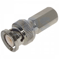 BNC коннектор под RG6 кабель с резьбой