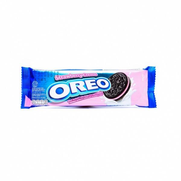 Oreo Орео Печенье 28,5 гр Клубничный Крем  3 печеньки