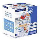 Набор квадратных контейнеров Luminarc Pure Box Active 3 шт, фото 2