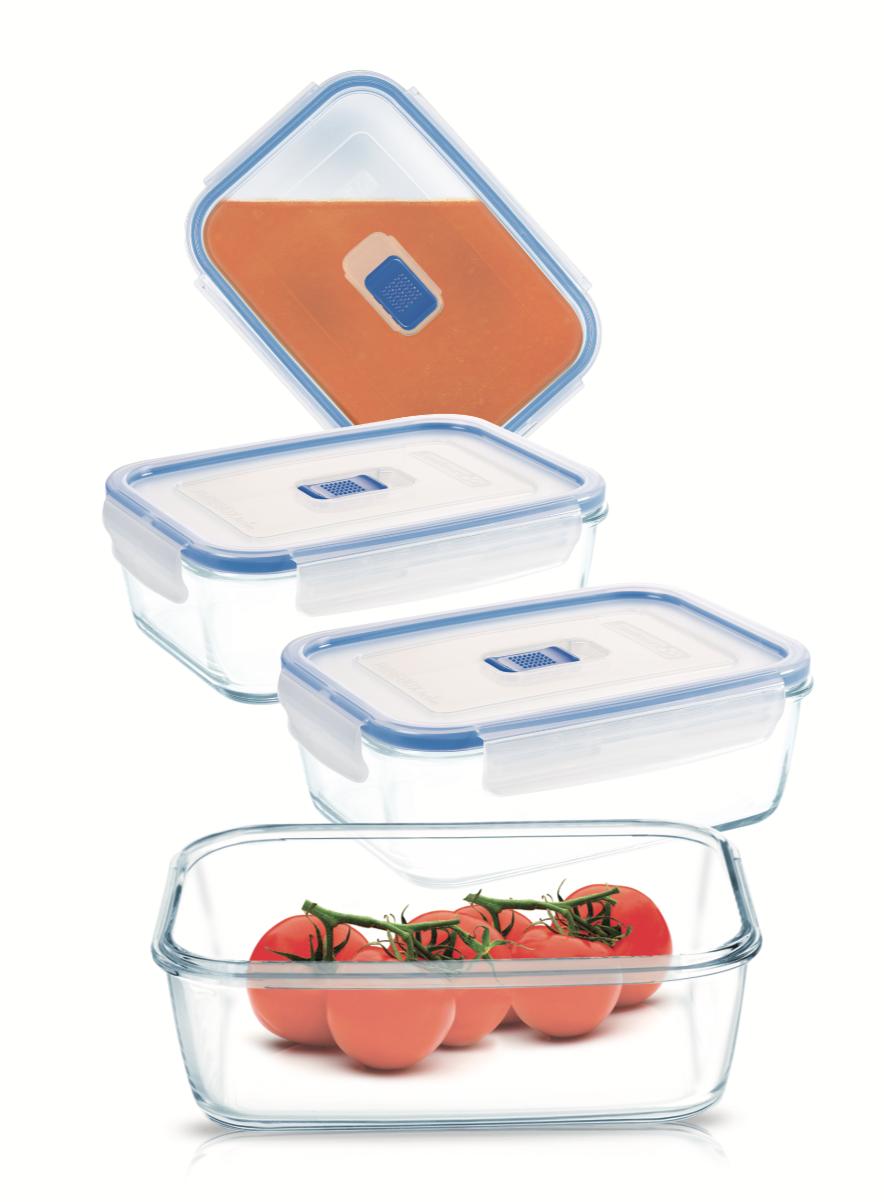 Набор пищевых контейнеров Luminarc Pure Box Active 4 шт
