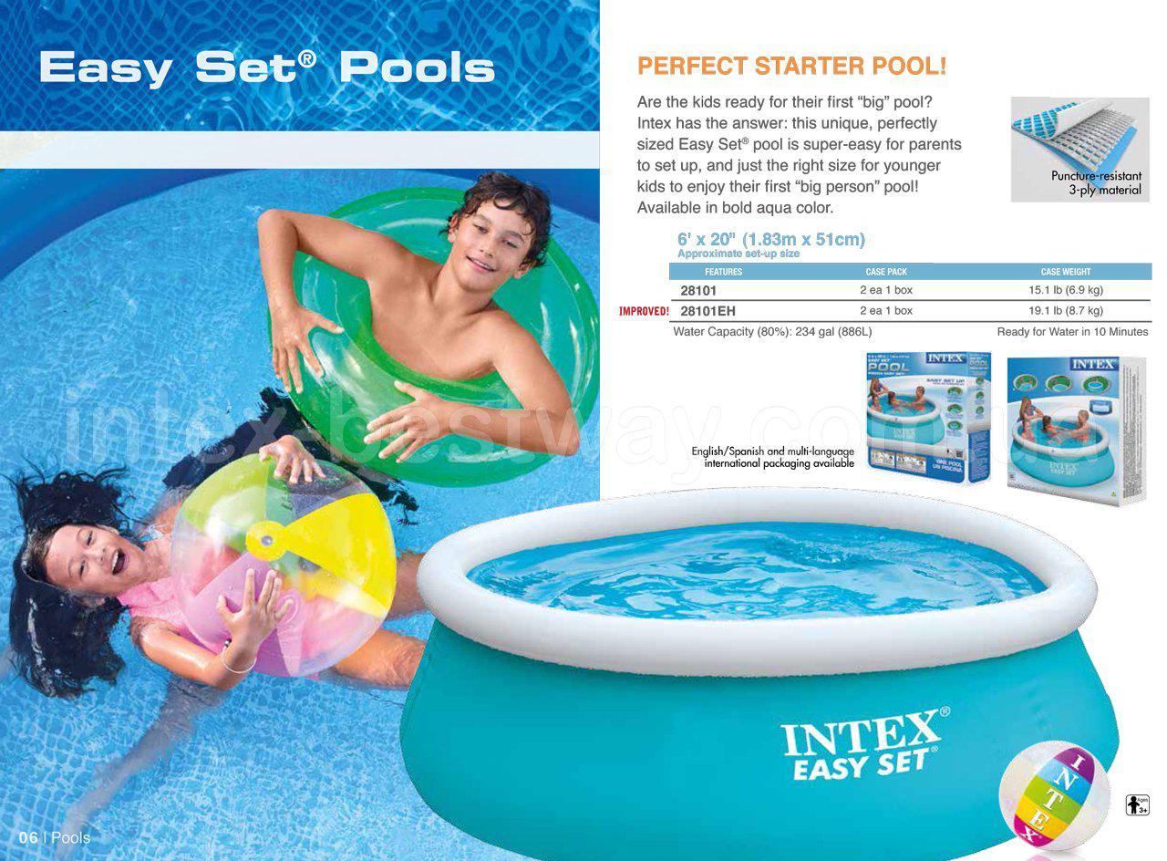Бассейн Easy Set (305х76см.) Intex