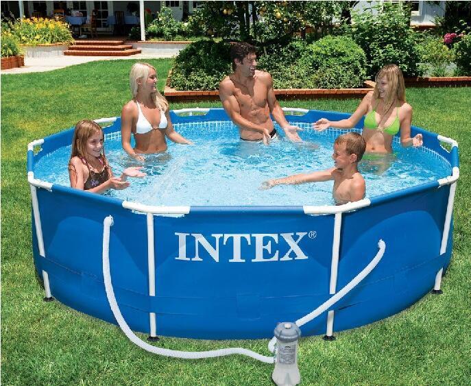 Бассейн Easy Set (366х366х76см.) Intex