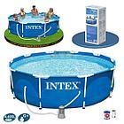 Бассейн Easy Set (366х366х76см.) Intex, фото 2