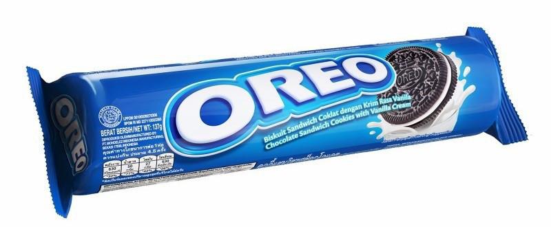 Орео Original Печенье 133гр Ванильный крем Oreo