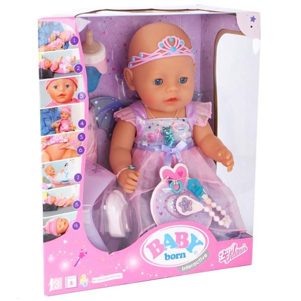 824-191 Бэби Борн Кукла Интерактивная Волшебница, 43 см
