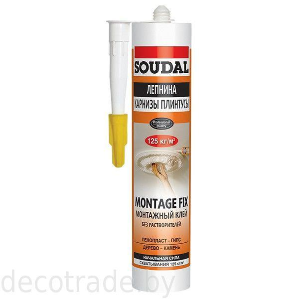 Монтажный клей Soudal 50A Montage Fix