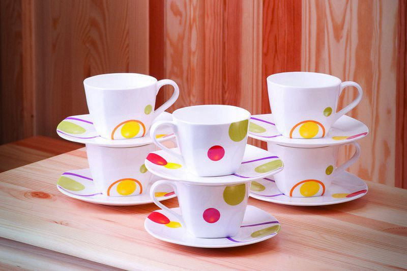 Круги набор чайных пар