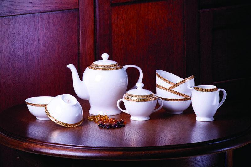 Алтынай чайный сервиз с пиалами