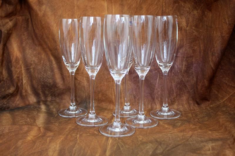 Шампанское набор бокалов