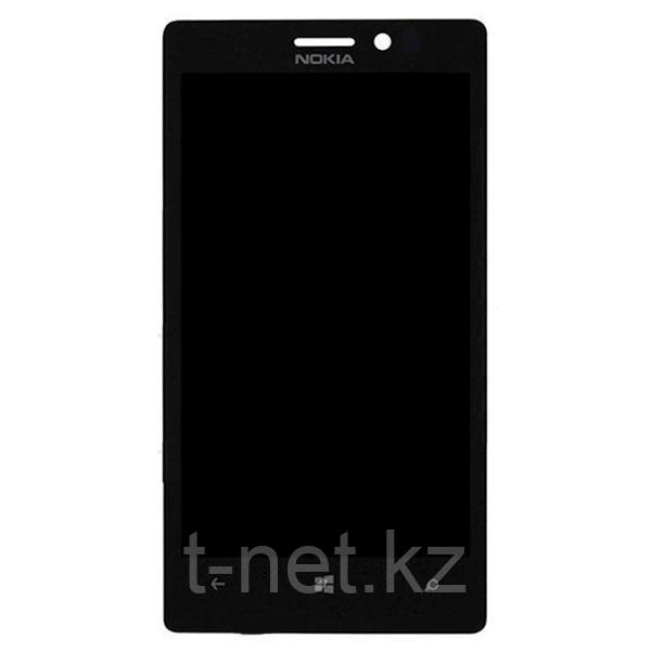 Дисплей NOKIA LUMIA 925 с сенсором, цвет черный