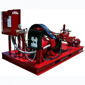 Водоструйные насосные опрессовочные агрегаты / Gardner Denver Inc. (США) Высоконапорные гидродинамические маши