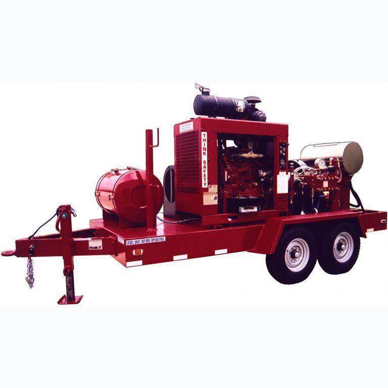 Установки Multi-Blaster серии 300 / Gardner Denver Inc. (США) Высоконапорные гидродинамические машины большой