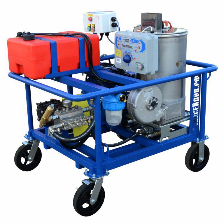 Серия гидродинамических аппаратов Посейдон E15-Th 15 кВт с подогревом воды