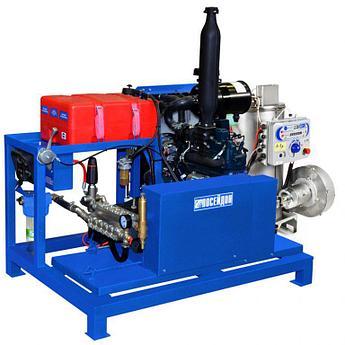 Водоструйный аппарат «Посейдон DT45S1-500-30-Th» с подогревом воды