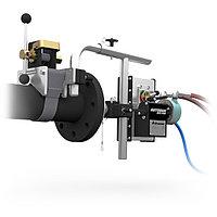 Система для дистанционного управления гибким копьем/шлангом при гидродинамической очистке труб, трубопроводов