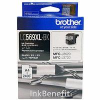Brother LC569XL чёрный повышенной ёмкости для MFC-J3520/3720 струйный картридж (LC569XLBK)