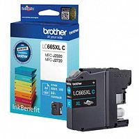 Brother повышенной ёмкости LC665XLC голубой для MFC-J2320, MFC-J2720 струйный картридж (LC665XLC)