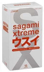 """Ультратонкие презервативы """"SAGAMI Xtreme"""", 0.04 мм, 1 штука"""