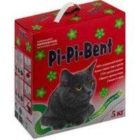 Pi Pi Bent,  Пи Пи Бент, наполнитель комкующийся с ароматом свежих трав и цветов. Сенсация свежести, 5 кг