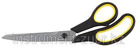 """Ножницы STAYER """"MASTER"""" хозяйственные, изогнутые, двухкомпонентные ручки, 245мм"""