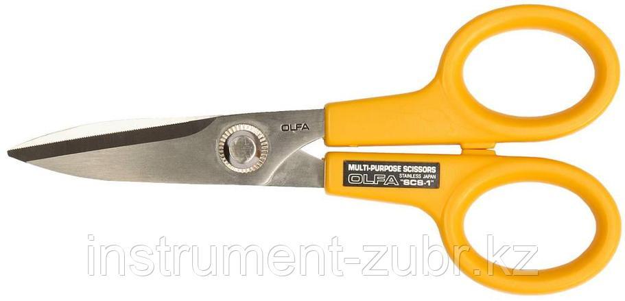 Ножницы OLFA хозяйственные малые из нержавеющей стали , фото 2