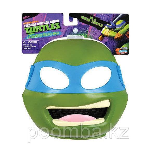 Пластиковая маска TMNT Леонардо
