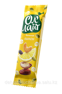 Безглютеновый Батончик Ол'Лайт® Лимон