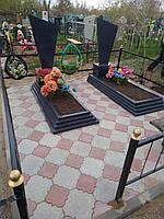 Укладка брусчатки на могилке