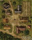 Настольная игра: Pathfinder Игровое поле Деревня, фото 4