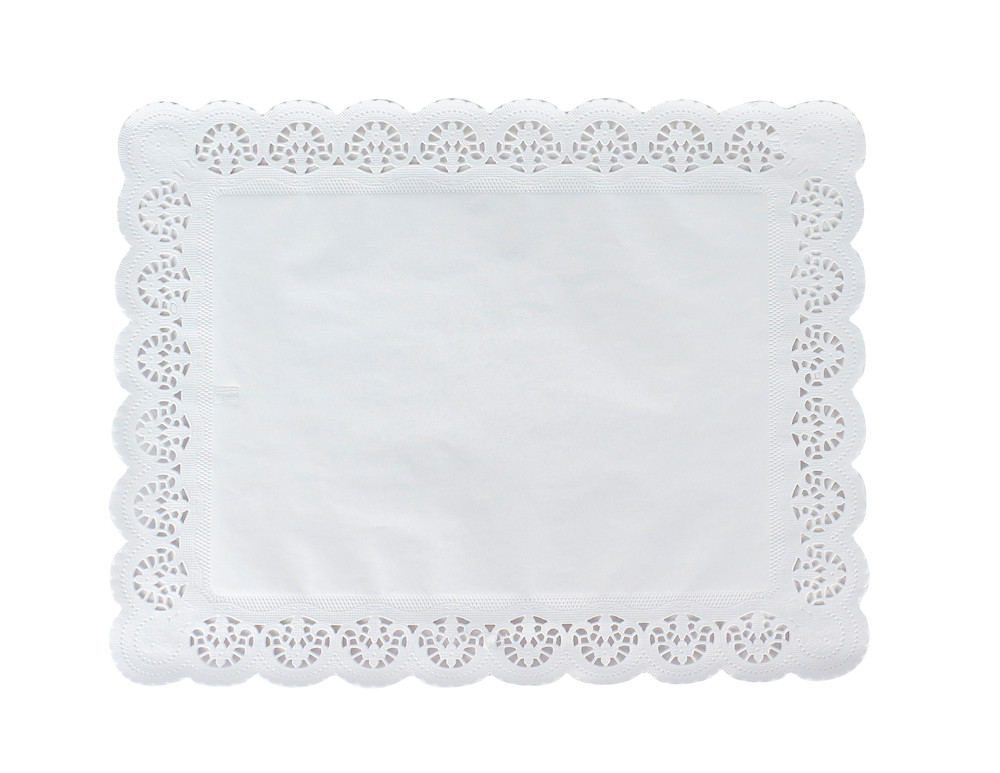 Pasticciere. Салфетки бумажные ажурные ПРЯМОУГОЛЬНАЯ 180*300 мм (250)