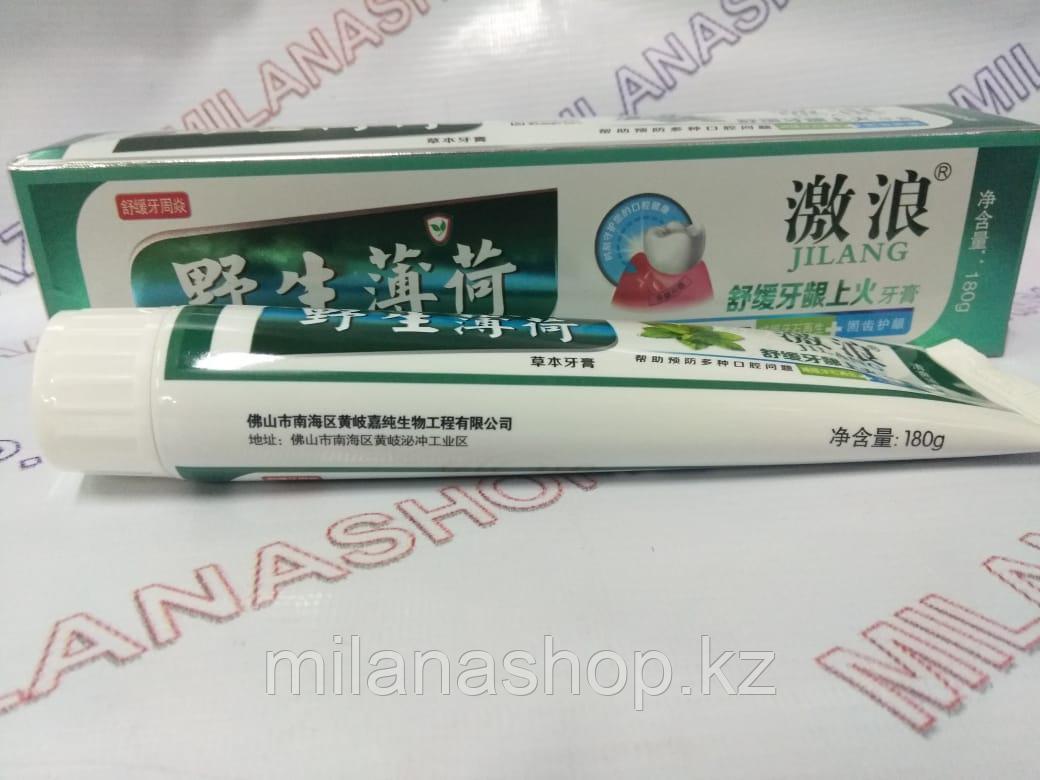 Зубная паста 180 мг Мята