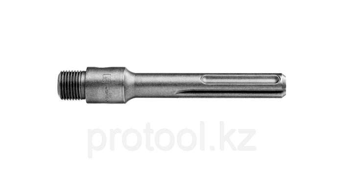 "Державка ЗУБР ""ПРОФЕССИОНАЛ"" для коронок по бетону, хвостовик SDS-Max, L=160 мм, M22"