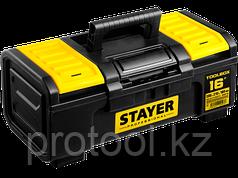 """Ящик для инструмента """"TOOLBOX"""" пластиковый, STAYER Professional 480х270240"""