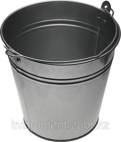 Ведро оцинкованное для непищевых продуктов, 9 л                                                                         , фото 2