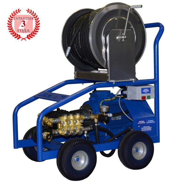 Аппарат высокого давления для труб и поверхностей Е11-120-50 (ВНА-120-50)